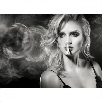 The Guys With The Same Name Art Photography - smoking coco